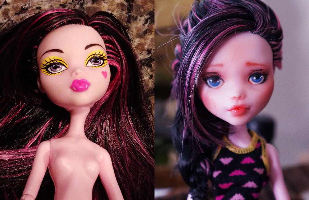 Doll Repaint No. 3 – Draculaura